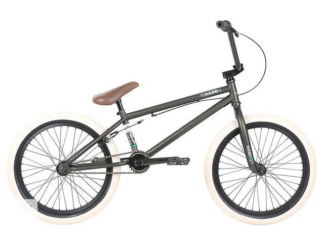 Велосипед BMX Haro 2019 Boulevard 20.5 TT Matte Olive- объявление о продаже  в Одессе
