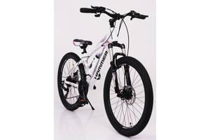 """Спортивный велосипед Sigma HAMMER S 200 26"""", Рама 17'' бело-розовый"""