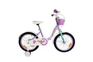 "Велосипед дитячий RoyalBaby Chipmunk MM Girls 14 "", OFFICIAL UA, фіолетовий"