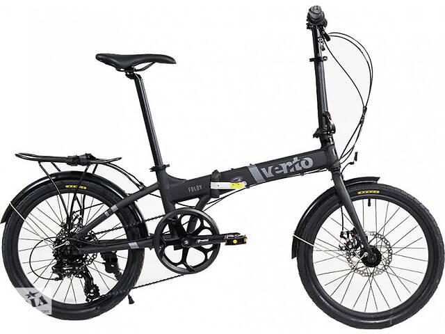 бу Велосипед Vento Foldy ADV 2020 Black Matt в Полтаве