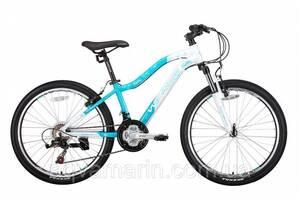 """Велосипед Winner Betty 24"""" Бело-голубой 2019"""