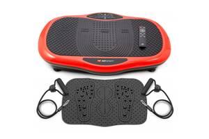 Виброплатформа 3D + пульт + массажный коврик HS-070VS Scout Красный