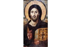 Икона Синайский Спас (400 х 200х 18 мм)