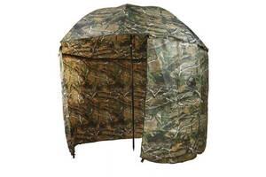Зонт палатка для рыбалки окно d 2.2 м SF23817 Дубок Хаки (007089)