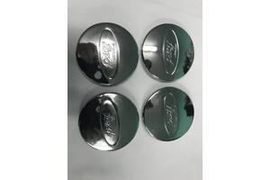 Колпачки под оригинальные диски 50мм V2 (4 шт) Ford Fiesta 2002-2008 гг. / Колпачки на диски Форд Фиеста