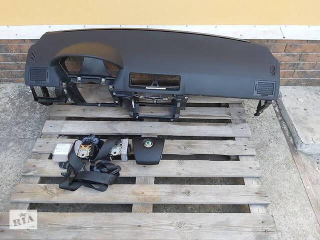 бу Комплект безопастности торпеда,AIR BAG в руль,пара ремней безопастности,блок управления для Skoda Fabia 1999-2007 в Харькове