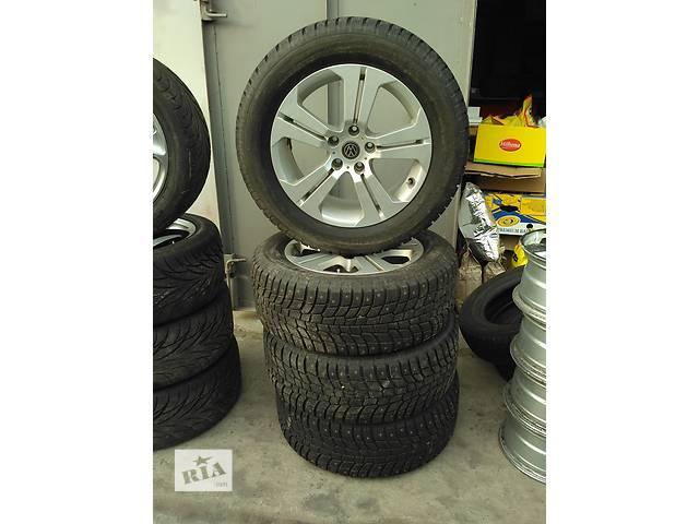 Комплект дисков Volkswagen Touareg R18 5x120 + резина Michelin 255/55- объявление о продаже  в Киеве