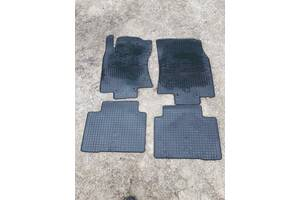 Комплект ковриков салона резина для Nissan Rogue 14-