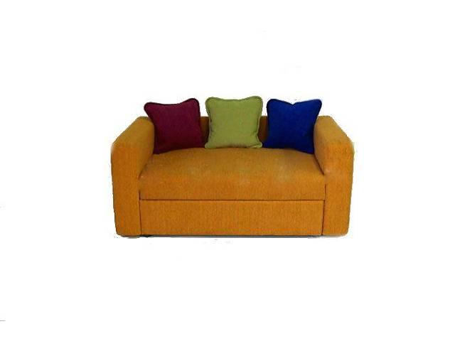 купить бу Прямой диван Юлия Тоффи Оранжевый в Киеве