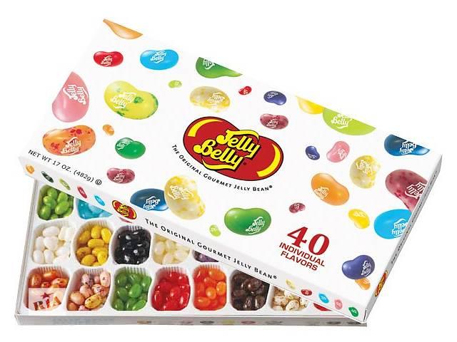 бу Конфеты JellyBellyGiftBox 40 вкусов  в Украине