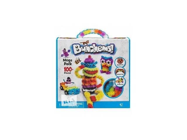 Конструктор вязкий пушистый шарик Bunchems (Банчемс) 100+ - объявление о продаже  в Чернигове