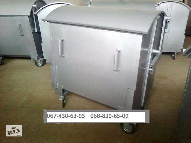 бу Контейнер для бытового мусора 1100 литров в Виннице