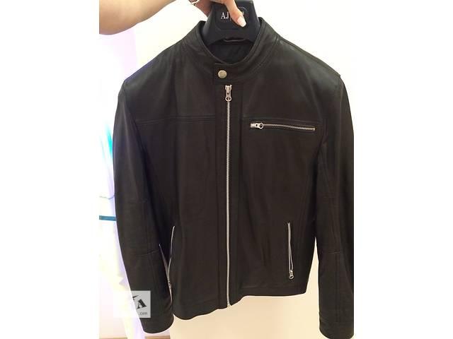 Кожаная мужская куртка Tommy Hilfiger Оригинал! Новая- объявление о продаже  в Днепре (Днепропетровск)