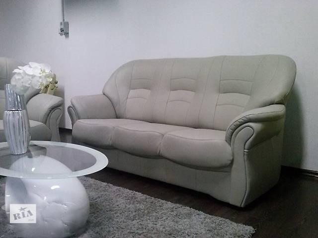продам Кожаный комплект Jupiter, кожаная мебель Польша, кожаный диван бу в Дрогобыче