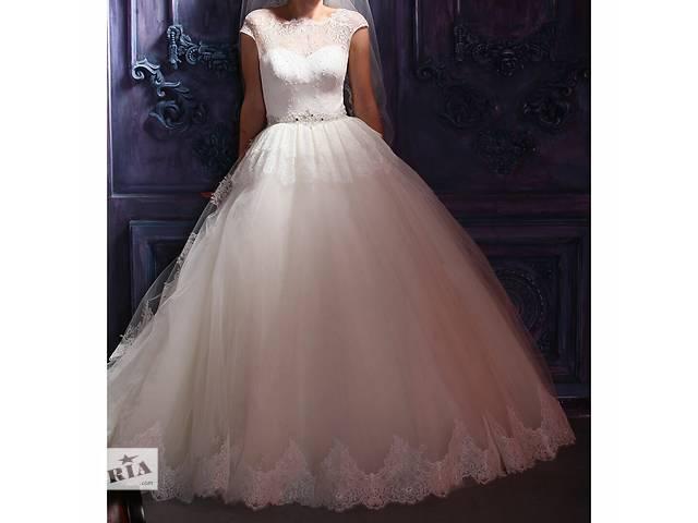 Красивое свадебное платье- объявление о продаже  в Днепре (Днепропетровск)