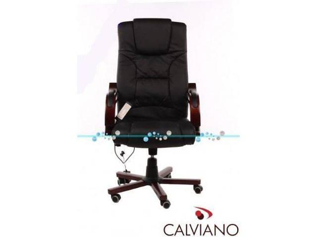 Кресло офисное c массажем Prezydent Calviano. Есть в наличии. Отправка по Украине!- объявление о продаже  в Львове