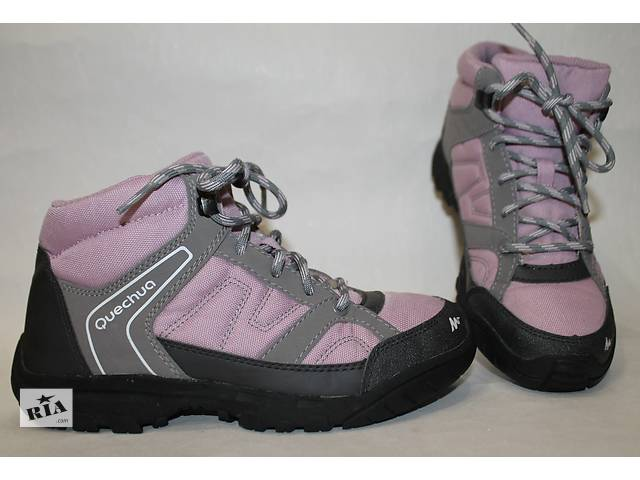 Кроссовки,ботинки термо (мембрана) QUECHUA р.34 (в идеале)- объявление о продаже  в Виннице