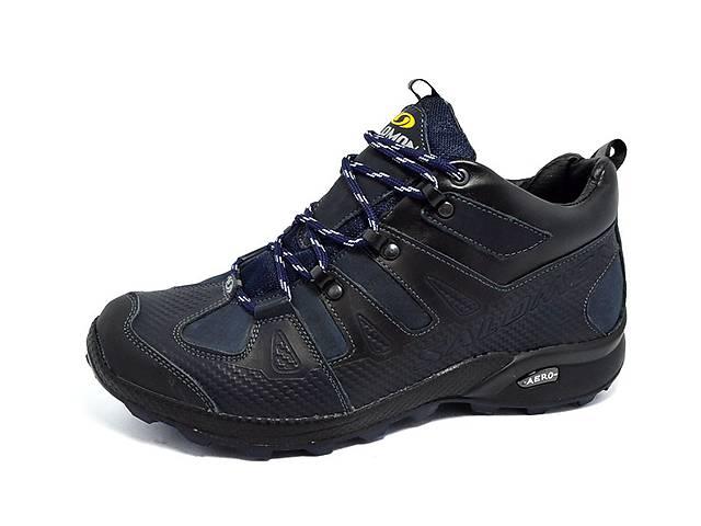Кросівки шкіряні зимові Salomon Gore-Tex Aero сині- объявление о продаже в  Вознесенську 69fc37bbc046e
