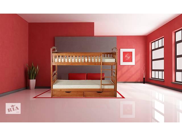 бу кровать двухъярусная деревянная Карина ,Карина Люкс для детей и взрослых в Одессе