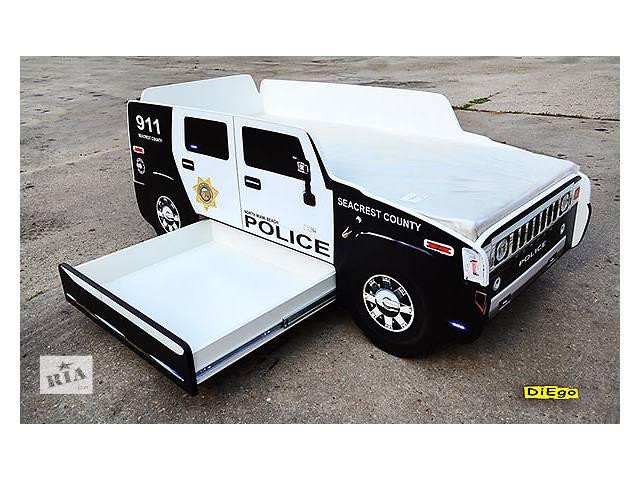 купить бу Кровать-машина Hummer Police из МДФ в Киеве