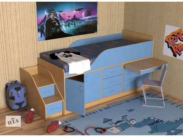 продам Кровать детская (дл2) Merabel бу в Харькове