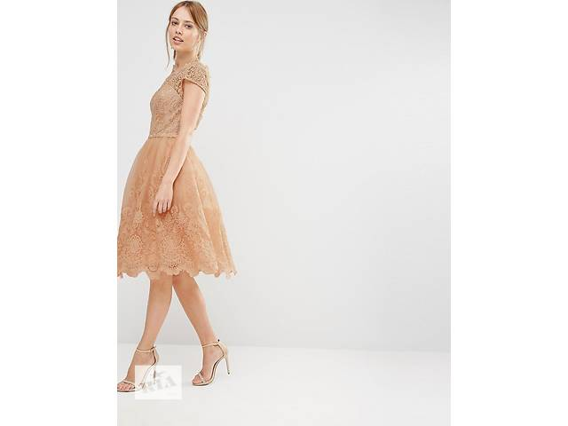 Кружевное платье миди Chi Chi London Premium - абсолютно новое- объявление о продаже  в Хмельницком