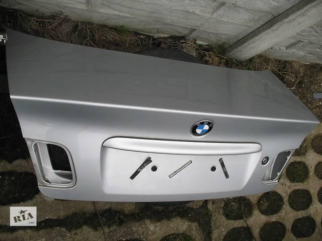 Крышка багажника BMW 3  E46 рест- объявление о продаже  в Львове