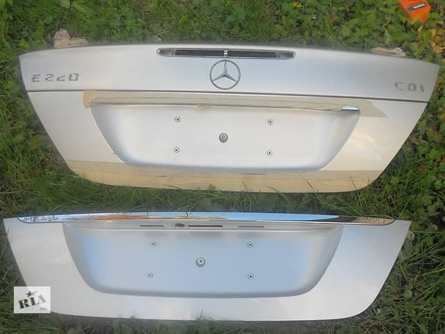 продам  Крышка багажника для легкового авто Mercedes E-Class  211 бу в Ровно