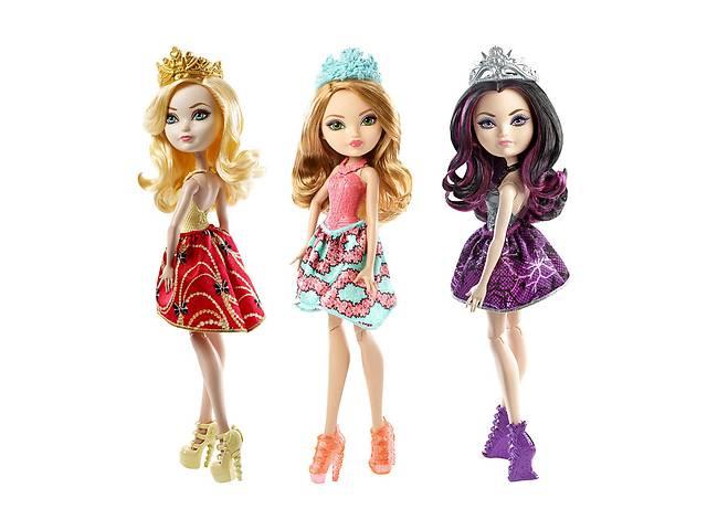 продам Куколка Ever After High Apple White и Raven Queen бу в Одессе