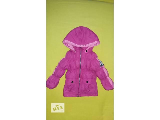 купить бу куртка детская розовая 2 в Киеве