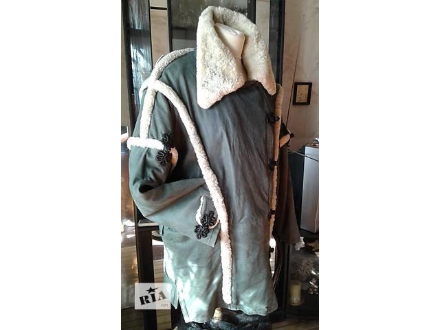 купить бу куртка женская кожаная утеплённая р 50 в Запорожье