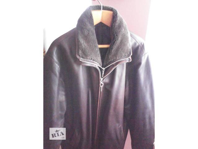купить бу Куртка кожаная 52-54 демисезонная в Днепре (Днепропетровск)