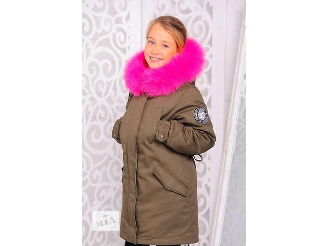 бу Куртка-парка зимняя для девочки 8-12 лет в Харькове