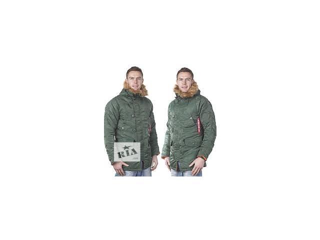 купить бу Куртка зимняя мужская Аляска N-3B Parka (Альфа индастриз) парка в Киеве