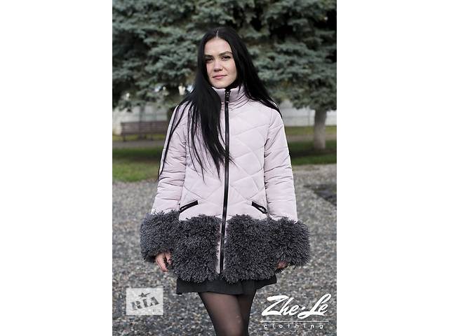 бу Куртка зимняя с мехом в Харькове