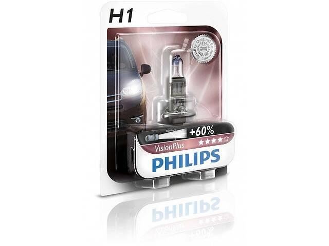 продам Лампа галогеновая Philips H1 VisionPlus (12258VPB1) бу в Києві