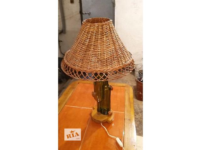 бу Лампа. Настольная лампа. Светильник. Лампа с абажуром. в Запорожье