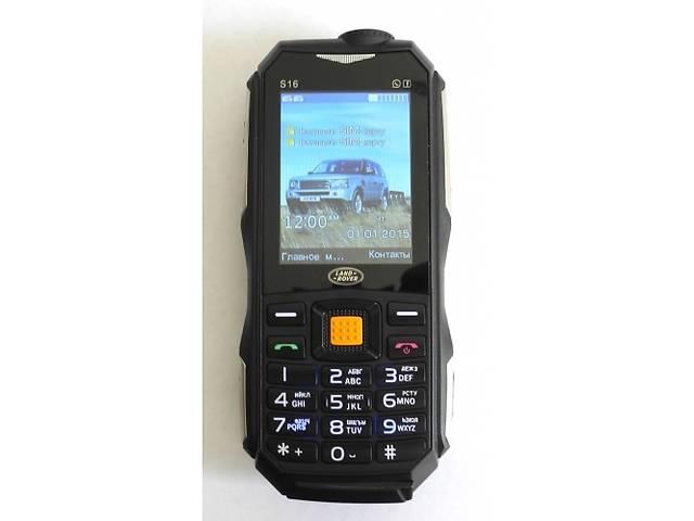 купить бу Land Rover S16 2 SIM 10.000mAh USB-лампа противоударный корпус в Киеве