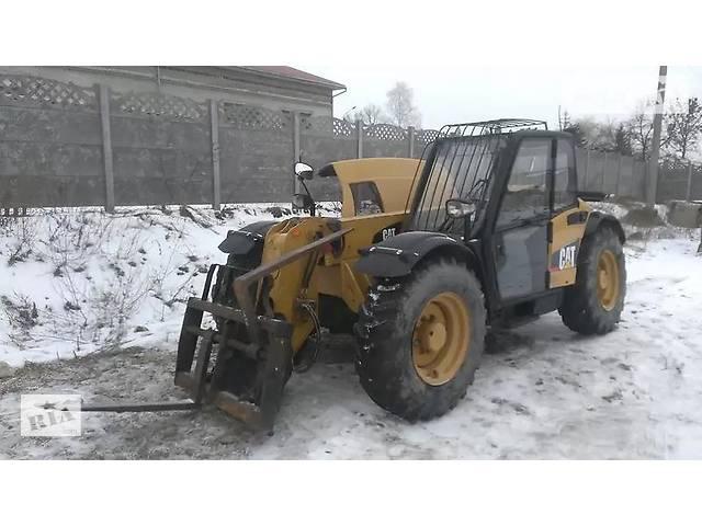 бу Довгострокова оренда Caterpillar TH вилочний навантажувач  в Украине