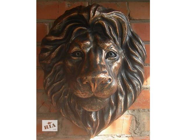 бу Лепной декор голова льва в Виннице