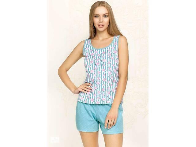 купить бу 6213-2 комплект женский майка+шорты в Одесі