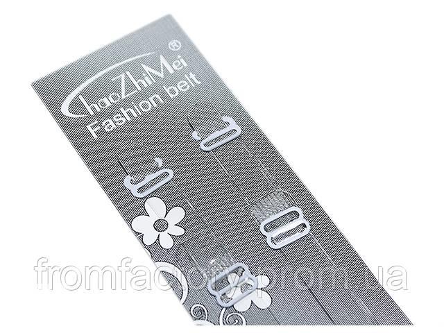 Бретельки силиконовые с металлическими регулировками и металлическими крючками- объявление о продаже  в Харькове