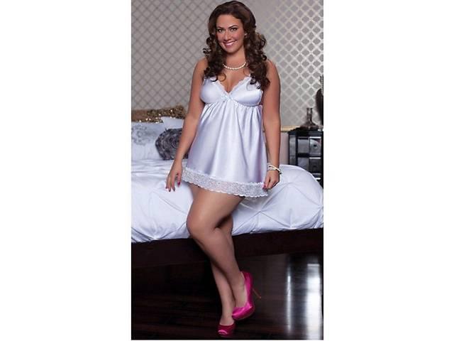 купить бу Сексуальная сорочка белого цвета  L, XL в Чернигове