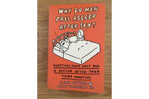 Бестселлер на английском -  Why Do Men Fall Asleep After Sex?