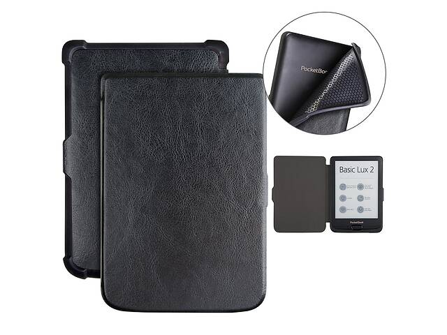 продам Чохол-книжка до електронної книги PocketBook 616/627/632 Black бу в Самборе