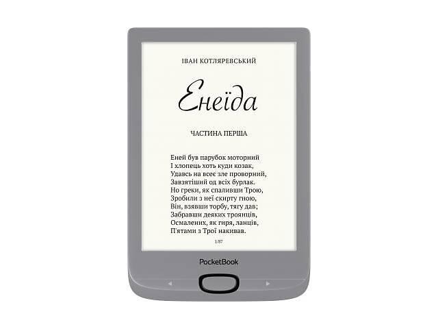 бу Электронная книга PocketBook 616 Basic Lux2, Silver (PB616-S-CIS) в Харькове