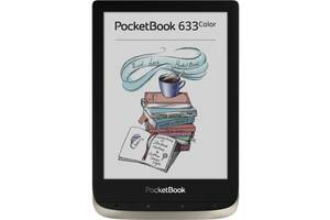 Электронная книга PocketBook 633 Color, Moon Silver