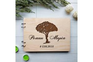 Книга пожеланий из дерева 7Arts Счастливая семья (WE-0002)