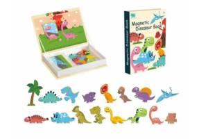 Магнитная книга-игра 8726-38 (Динозавры)