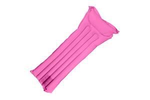 Матрас надувной Supretto одноместный пляжный, розовый (6038)